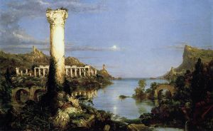 Desolation - Thomas Cole Oil Painting