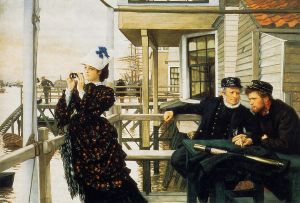 The Captain's Daughter II - James Tissot oil painting
