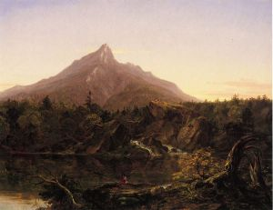 Corway Peak, New Hamshire - Thomas Cole Oil Painting