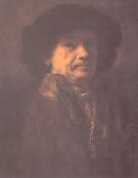 Self Portrait 12 - Rembrandt van Rijn Oil Painting