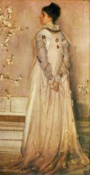 Symphony in Flesh Colour and Pink: Portrait of Mrs. Frances Leyland - Oil Painting Reproduction On Canvas