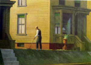 Pennsylvania Coal Town - Edward Hopper Oil Painting