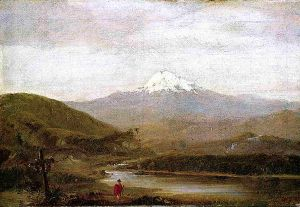 Cotopaxi II - Frederic Edwin Church Oil Painting