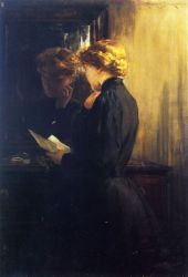 The Letter - Oil Painting Reproduction On Canvas