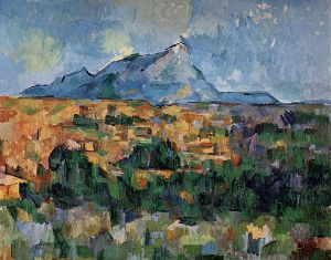 Mont Sainte-Victoire III - Paul Cezanne Oil Painting