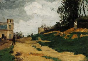 Landscape V - Paul Cezanne Oil Painting