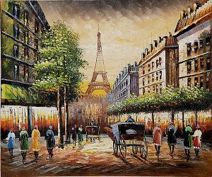 Corner Near La Gelette - Oil Painting Reproduction On Canvas