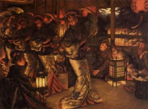 The Prodigal Son in Modern Life: in Foreign Climes - James Tissot oil painting