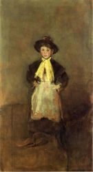 The Chelsea Girl - James Abbott McNeill Whistler Oil Painting
