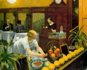 Tables for Ladies - Edward Hopper Oil Painting