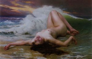 The Wave - Guillaume Seignac Oil Painting