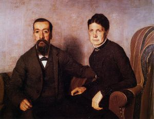 The Artist's Parents - Felix Vallotton Oil Painting
