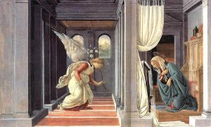 The Annunciation - Sandro Botticelli oil painting
