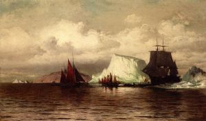The Coast of Labrador - William Bradford Oil Painting