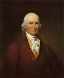 Portrait of Colonel Joseph Bull -   John Trumbull Oil Painting