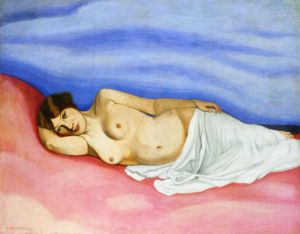 Nude in Bed - Felix Vallotton Oil Painting