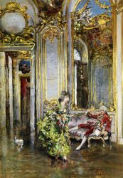 A Friend of the Marquis-Giovanni Boldini Oil Painting