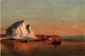 A Calm Afternoon, the Coast of Labrador - William Bradford Oil Painting