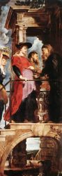 Descent from the Cross (left wing) - Peter Paul Rubens Oil Painting