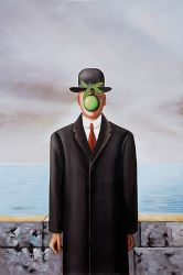 Son of Man - Rene Magritte Oil Painting
