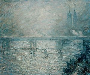 Charing Cross Bridge - Oil Painting Reproduction On Canvas