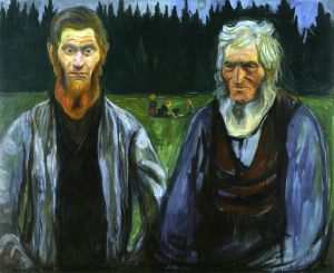 Generations - Oil Painting Reproduction On Canvas Edvard Munch Oil Painting