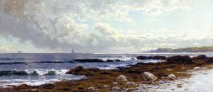 Along the Coast - Alfred Thompson Bricher Oil Painting