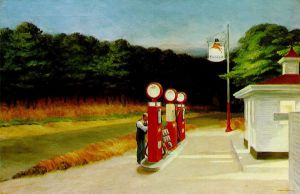 Gas - Oil Painting Reproduction On Canvas