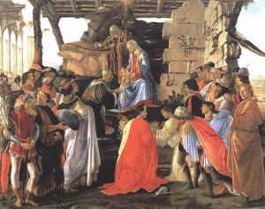 Adoration of the Magi IV - Sandro Botticelli Oil Painting