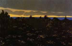 Twilight - Felix Vallotton Oil Painting