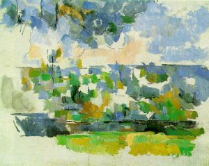 The Garden at Les Lauves - Paul Cezanne Oil Painting