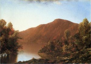 Mount Merino in The Catskills - William Mason Brown Oil Painting