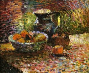 Still Life with Pitcher and Fruit - Henri Matisse oil painting,