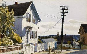 Adam's House - Edward Hopper Oil Painting