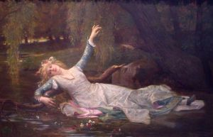 Ophelia - Oil Painting Reproduction On Canvas