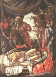 The Discovery of the Murder of Holofernes - Sandro Botticelli oil painting