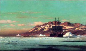 Artic Scene - William Bradford Oil Painting