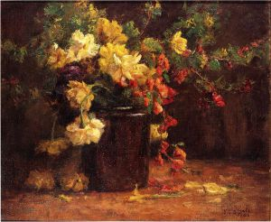 June Glory - Theodore Clement Steele Oil Painting