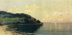 Coast Landscape - Alfred Thompson Bricher Oil Painting