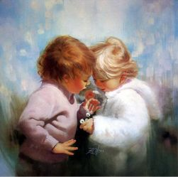 Tiny Treasures - Donald Zolan Oil Painting
