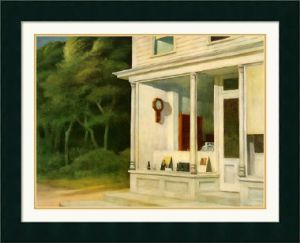 Seven A.M. - Edward Hopper Oil Painting