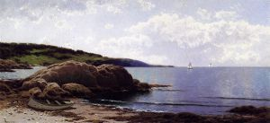 Baily's Island, Maine - Canvas Alfred Thompson Bricher Oil Painting