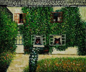 Forsthaus in Weissenbach Am - Gustav Klimt Oil Painting