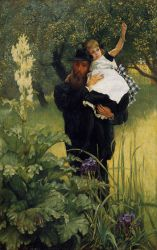 The Widower - James Tissot Oil Painting