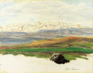 Mount Lebanon - Frederic Edwin Church Oil Painting
