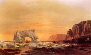 The Archway - William Bradford Oil Painting