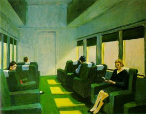 Chair-car - Edward Hopper Oil Painting