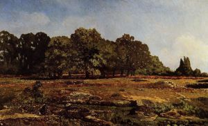 Avenue of Chestnut Trees near La Celle-Saint-Cloud - Alfred Sisley Oil Painting