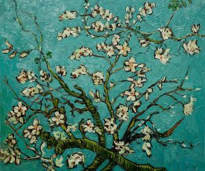 Branches of an Almond Tree in Blossom II - Vincent Van Gogh Oil Painting