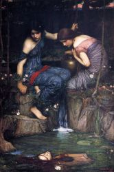 Nymphs Finding the Head of Orpheus - Oil Painting Reproduction On Canvas